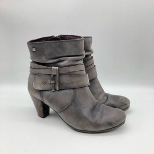 Pikolinos Verona Size 37  Slouch Heel Ankle Boot